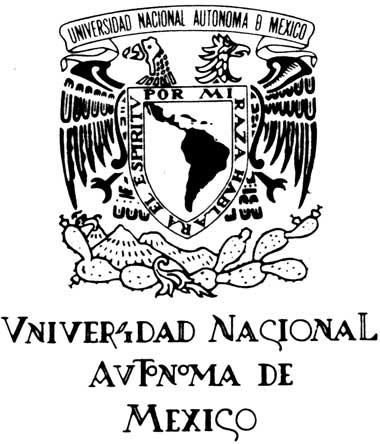El escudo y lema de la UNAM