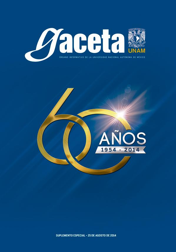 La Gaceta de la UNAM cumple 60 años